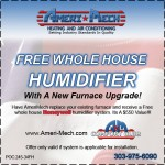 Free Humidifier Coupon