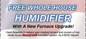free whole house humidifier
