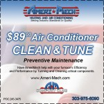 air conditioner service coupon Denver Boulder
